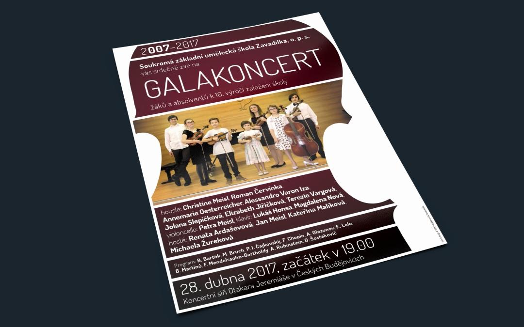 Galakoncert žáků aabsolventů k10.výročí založení školy