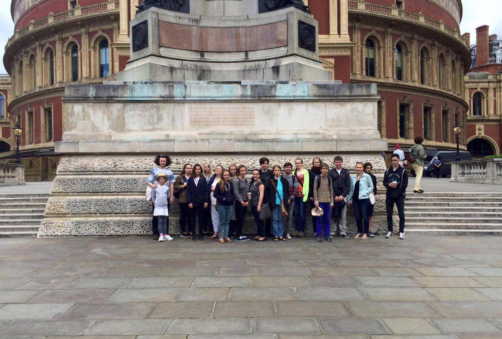 Zájezd Komorního orchestru školy do Velké Británie